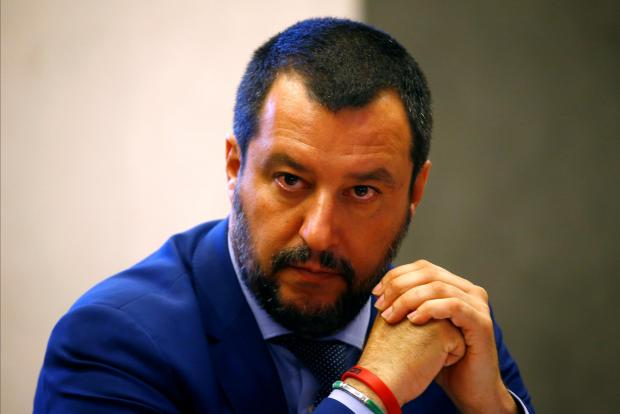 Matteo Salvini has upped his migration rhetoric.