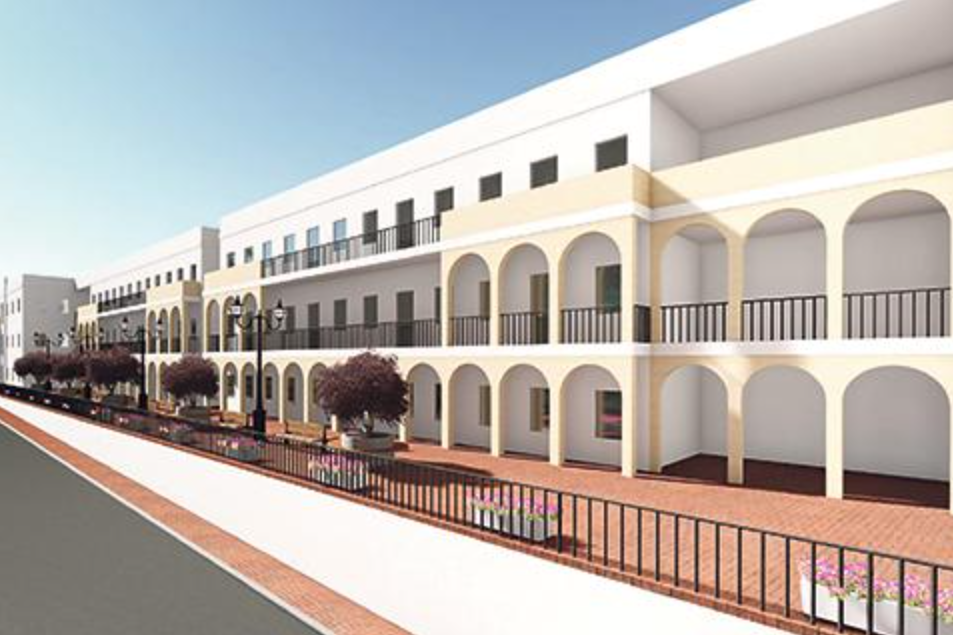 Another artist's impression of the project.