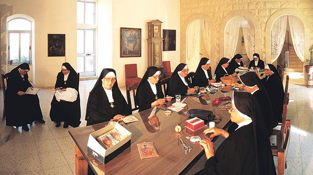 The Jerosolimitan Nuns of the Sovereign Military Order of St John of Jerusalem live in the Monastery of St Ursula founded by Grand Master Hughes de Loubenx Verdalle at the end of the 16th century.