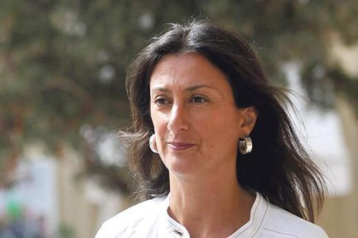 Assassinated journalist Daphne Caruana Galizia.