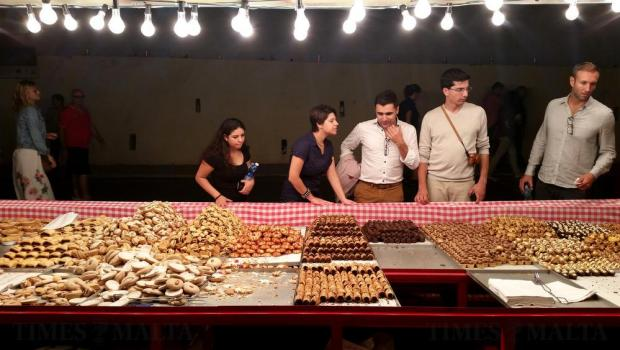 A sweet stall at the Birgu Fest on October 8. Photo: Chris Sant Fournier