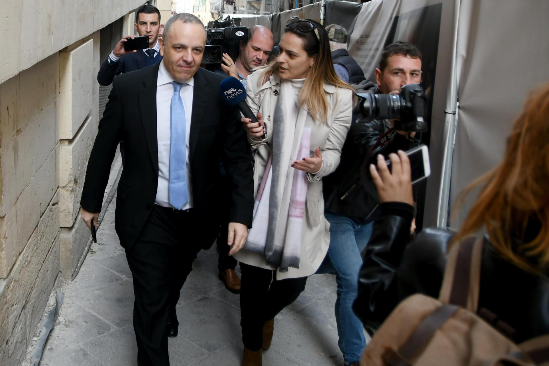 Keith Schembri in a previous court appearance.