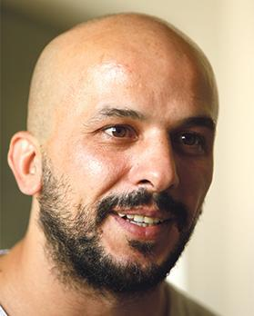Khaled Barakeh. Photo: Darrin Zammit Lupi