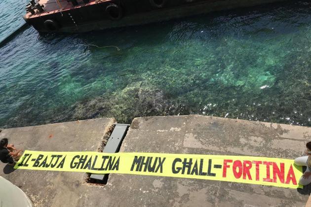 Captain Morgan temporarily suspends works at Balluta Bay