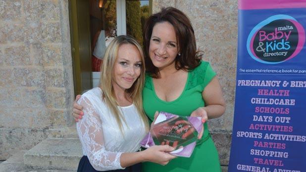 Michelle Muscat with Best Mum Nikki Attard.