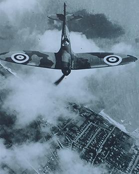 The day a Spitfire came crashing down into a Lija street