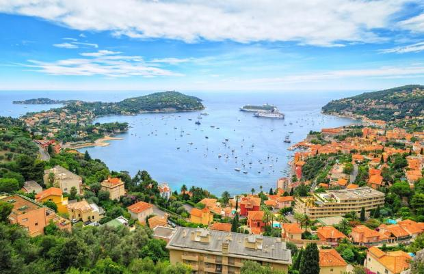 The coastal beauty of the Côte d'Azur. Photo: Shutterstock