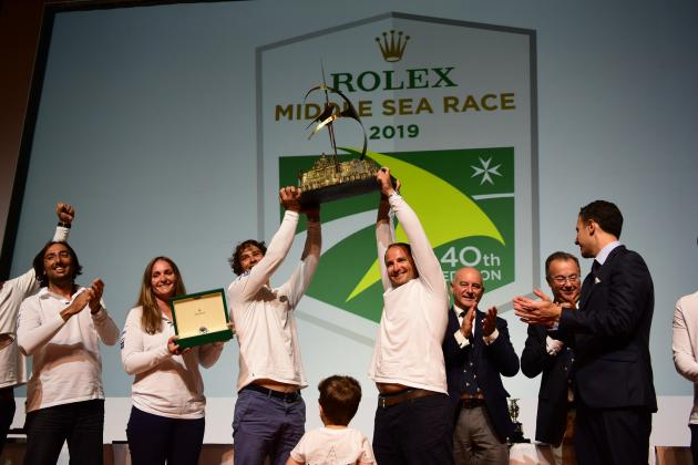 Legends to the fore at the Rolex Middle Sea Race