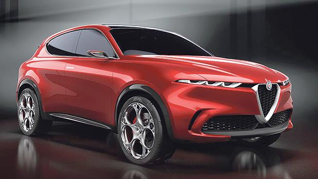 Alfa Romeo Is Breaking Into The Electric Car World Revealing New Concept Of Tonale Compact Suv At Geneva International Motor Show