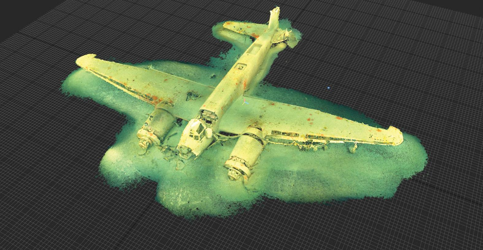 Due to the several air battles fought over Malta, the seabed is replete with aircraft remains.