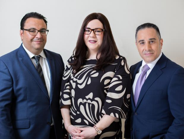 From left: BCI's chairman and founder Adrian Sciberras and Directors Charlene Sciberras and William Van Buren.