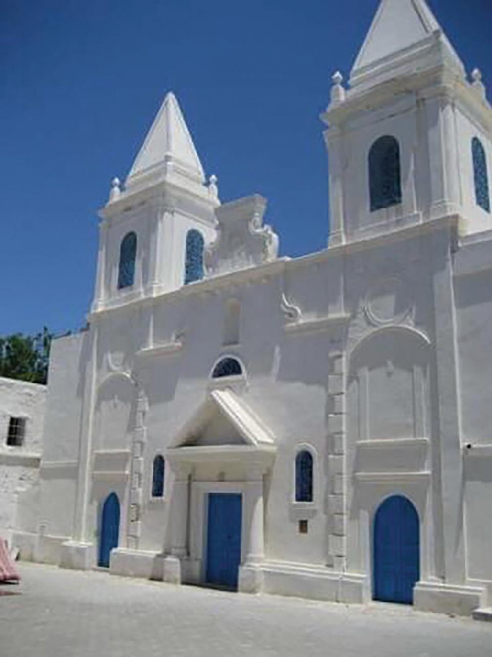 St Joseph church in Houmt el-Souk, in Djerba.