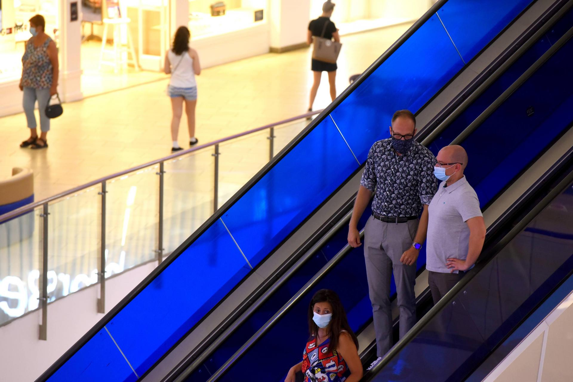Shoppers at a mall in Sliema: GDP measures their spending, but not the quality of their purchases. Photo: Chris Sant Fournier