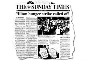 Environmental activists went on a hunger strike in January 1997 to protest the Portomaso project that saw the Hilton hotel being rebuilt along with hundreds of luxury apartments, a yacht marina and a business tower.