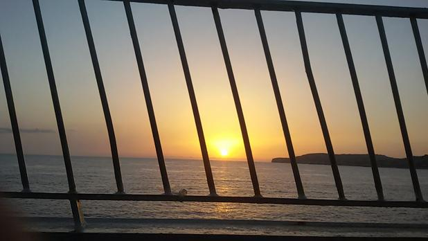 Sunset. Photo: Elinor Vella