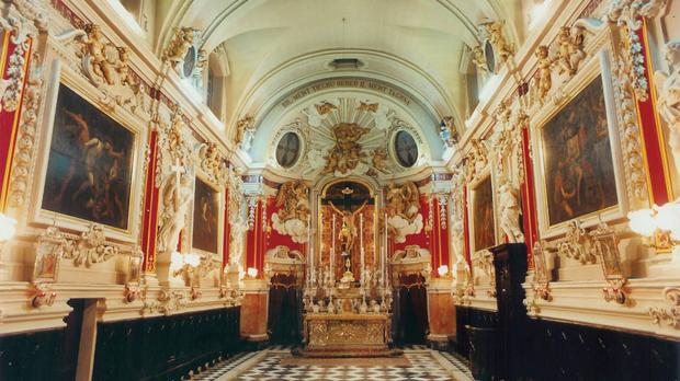 The Oratory of the Holy Crucifix built between 1731 to 1733.
