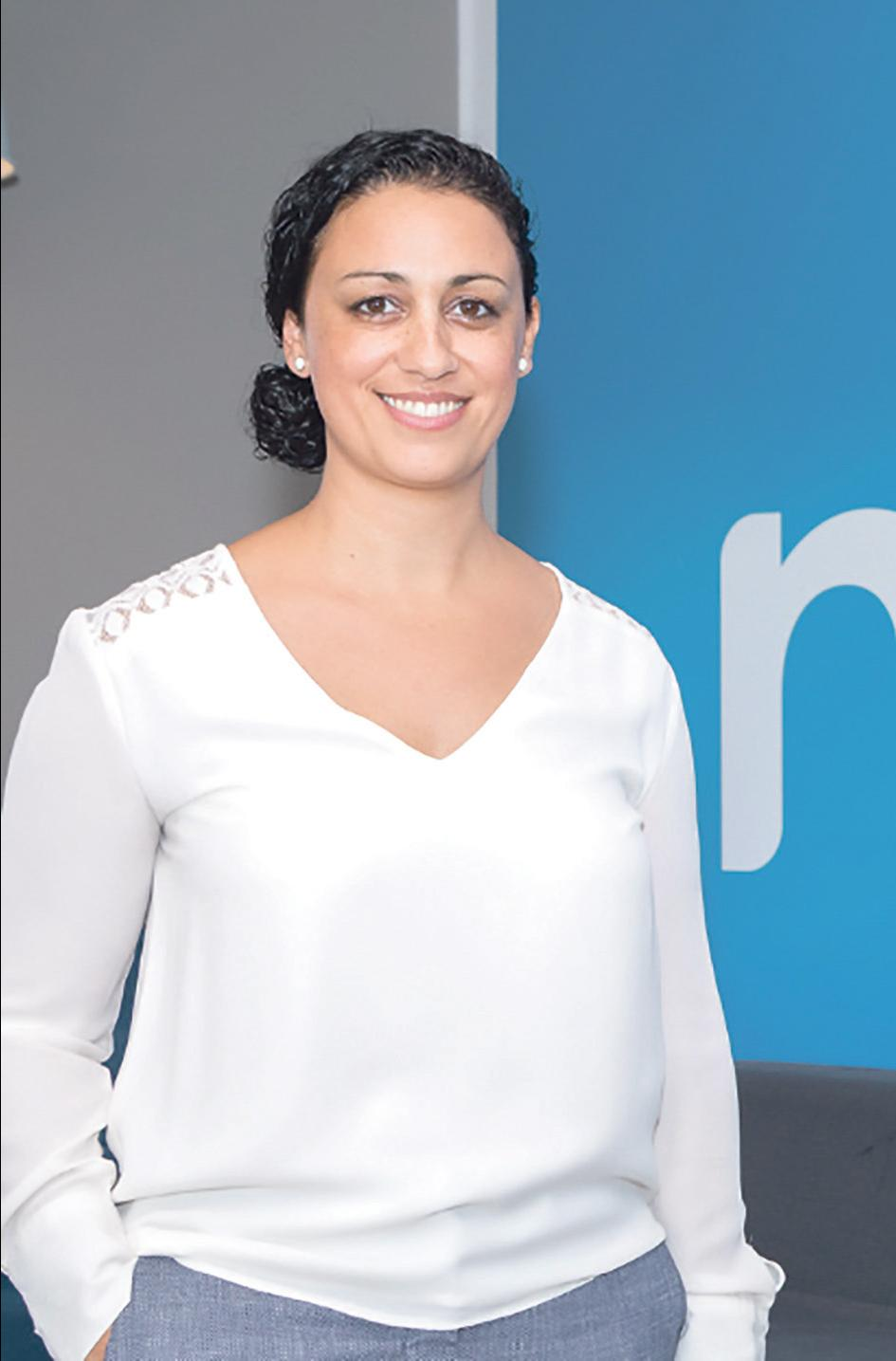 Graziella Costa, Melita's new head of customer experience