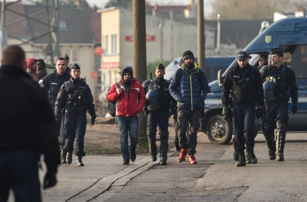 Migrants in Calais. AFP file photo