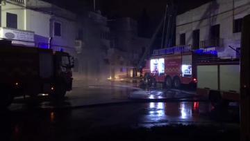 Three elderly people injured in Luqa fire | Video: Matthew Mirabelli