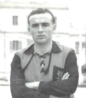 Ġużi Buttigieg was Ħamrun's hero in the 1948-49 Cassar Cup final.