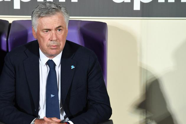 Watch: Ancelotti 'outraged' by San Paolo building work