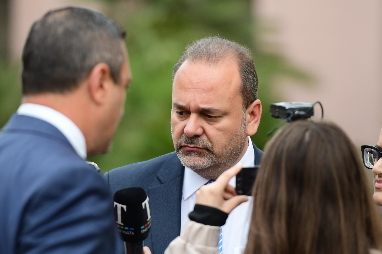 Minister Chris Cardona.