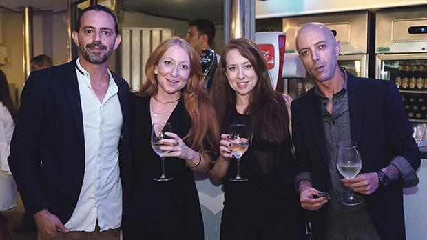 Chris Pace, Keeley Bajada and Samantha and Chris Psaila.