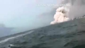 Watch: 23 injured by flying volcanic lava in Hawaii