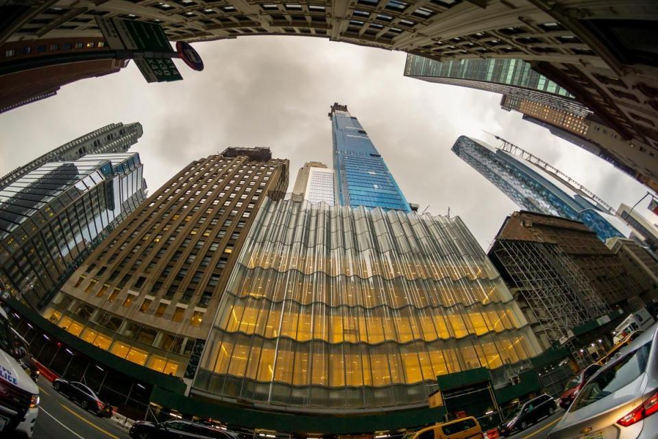 Billionaire's Row en Nueva York.  Foto: Shutterstock