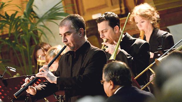 The Valletta International Baroque Ensemble in a past performance.