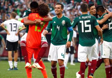 Watch: Mexico stun holders Germany 1-0 in World Cup opener