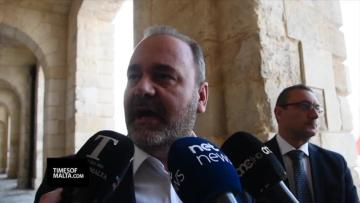 Watch: Cardona points to inquiry in defence of Schembri and Mizzi, denies it has stalled