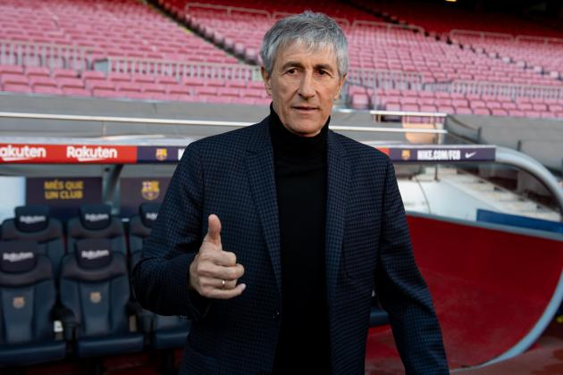 Emotional Setien surprised to be given dream job at Barcelona