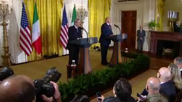 US President Donald Trump and Italian Prime Minister Paolo Gentiloni offer condolences to France after a police shooting in Paris.