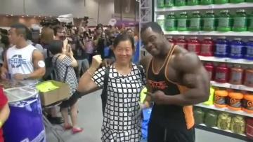 Arnold Schwarzenegger launches Hong Kong sports fest