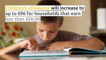 Budget: Wages to rise by €2.33, Children's allowance up for low-income families