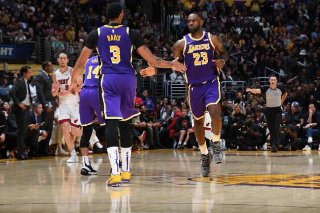 Watch: James' triple double streak ends but Lakers win 7th straight