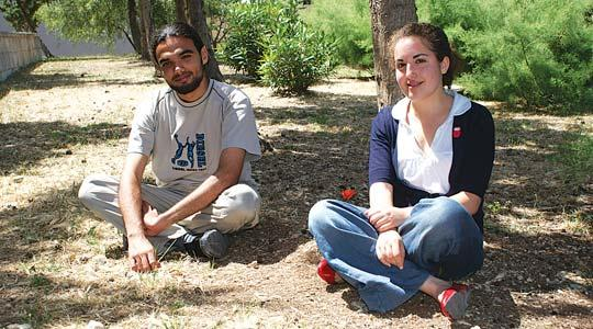 Final year science students Malcolm Borg and Simone Cutajar define better use of existing spaces at university.