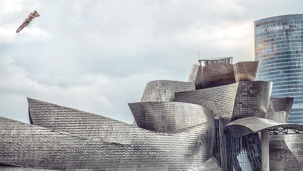 Cities category winner – Twist over the Guggenheim, Pedro Luis Ajuriaguerra Saiz