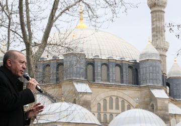 Erdogan offers seminary exchange for Greek mosque minarets