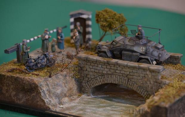 A diorama from the exhibition of the Malta Society of Model Makers at the Catholic Institute in Floriana on April 8. Photo: Matthew Mirabelli