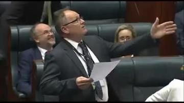 Watch: MP's hilarious version of Sound of Silence wins applause