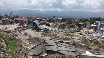 Death toll from Indonesia's quake, tsunami up to 1,234
