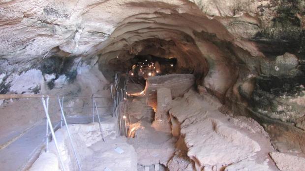 Għar Dalam, one of the Heritage Malta sites.