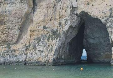 Geologist Peter Gatt spoke of damage to Gozo's Azure Window.