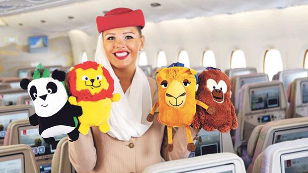 The new collection of toys is available on board all flights and across all classes from this month.
