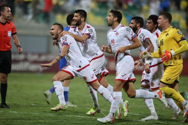 Degabriele's last-gasp goal earns Malta merited point at Cyprus