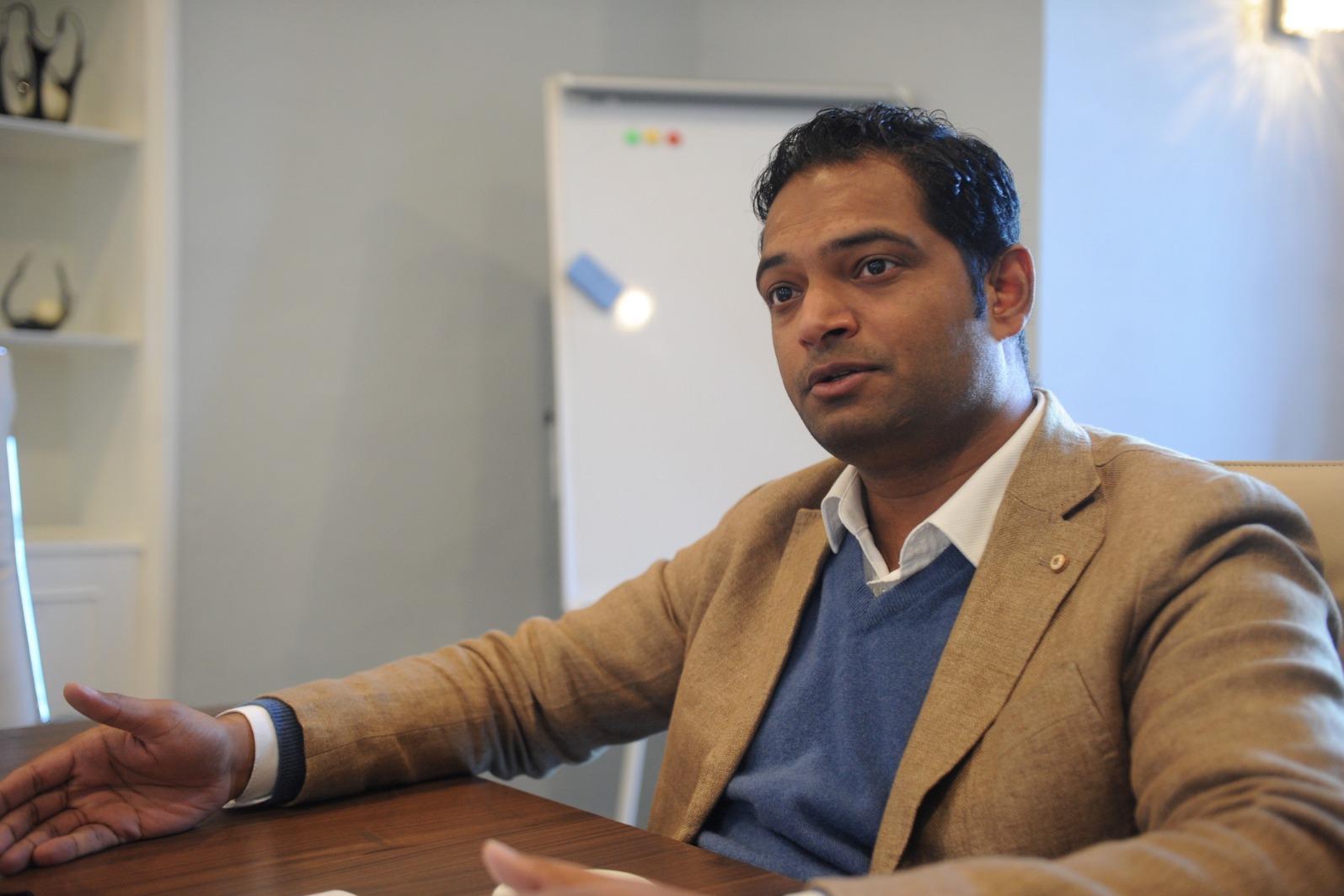 Sri Ram Tumuluri, a director of Vitals who fronted the hospitals deal. Photo: Mark Zammit Cordina