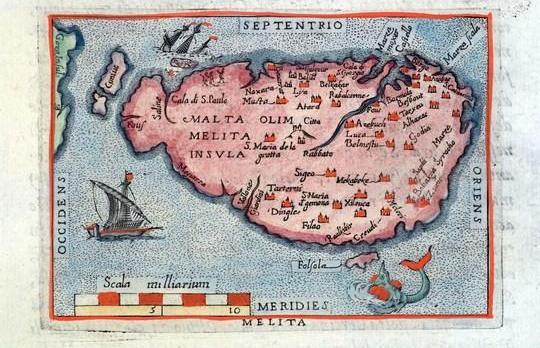 Antique maps transferred to Heritage Malta