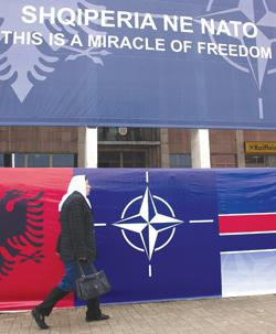 Image result for albania in nato miracle